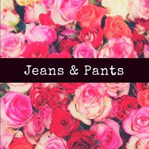 Pants for sale in my closet